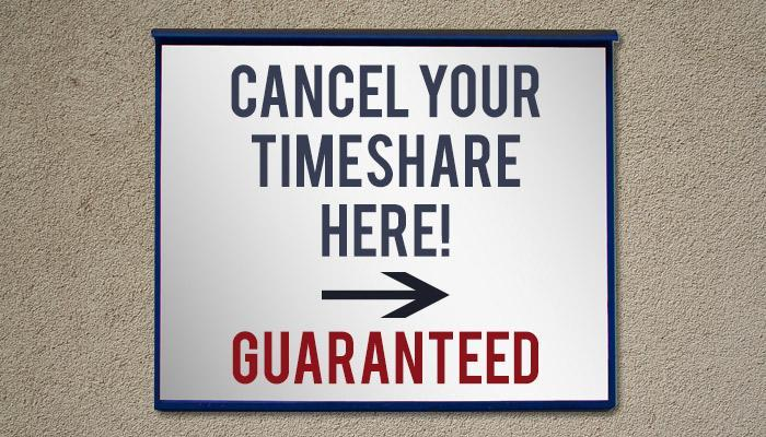 How to cancel a timeshare