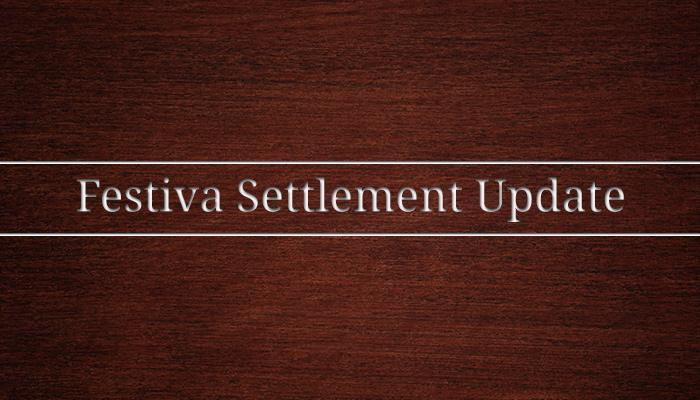 Festiva Settlement Update Finn Law Group