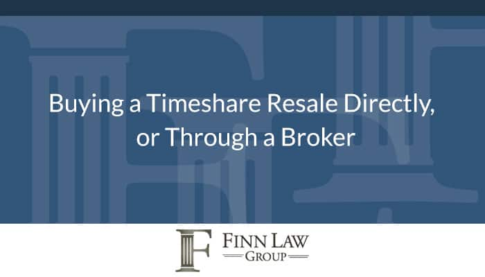 Timeshare Resale